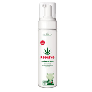 Cannaderm Robátko - umývacia pena Sensitive 200 ml