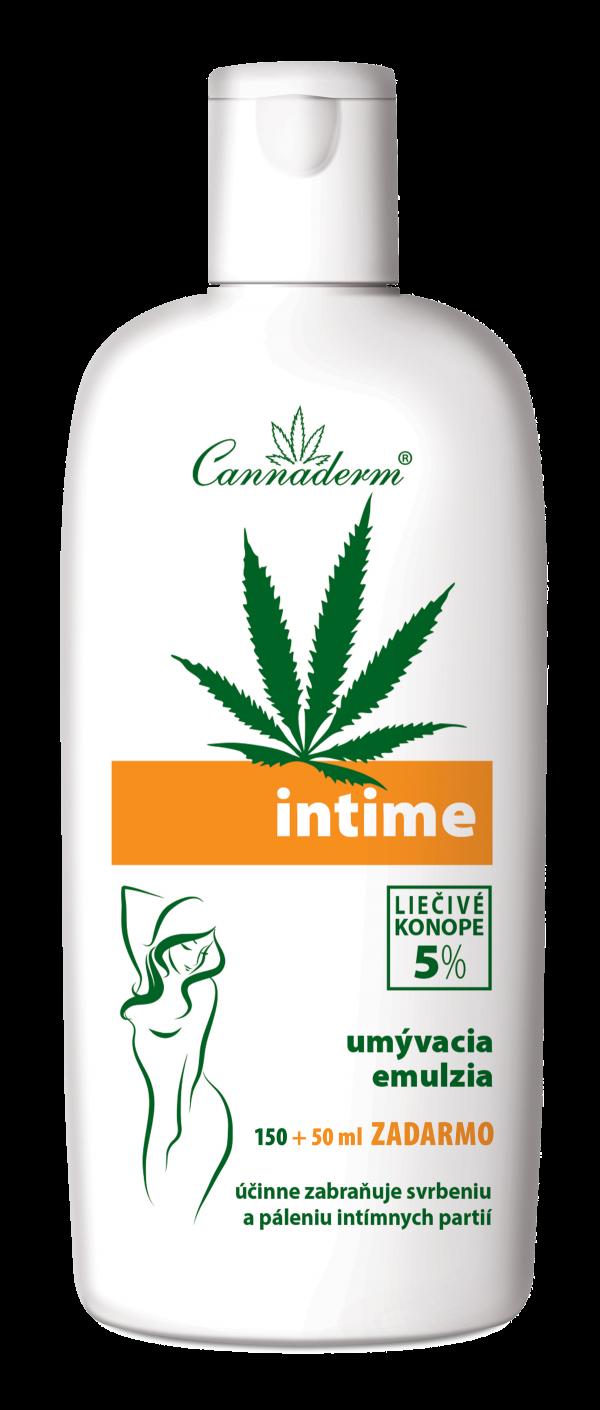 Cannaderm Intime – umývacia emulzia 150 + 50 ml