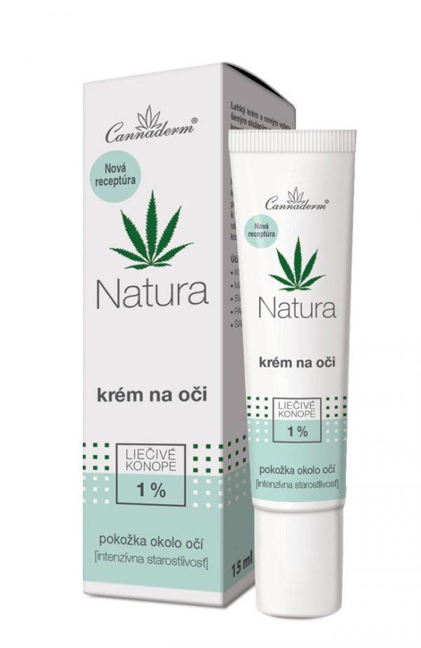 Cannaderm Natura - krém na oči 15 ml
