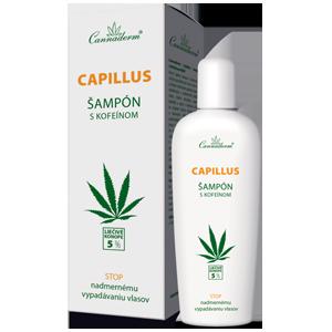 Cannaderm Capillus – šampón s kofeínom NEW 150 ml