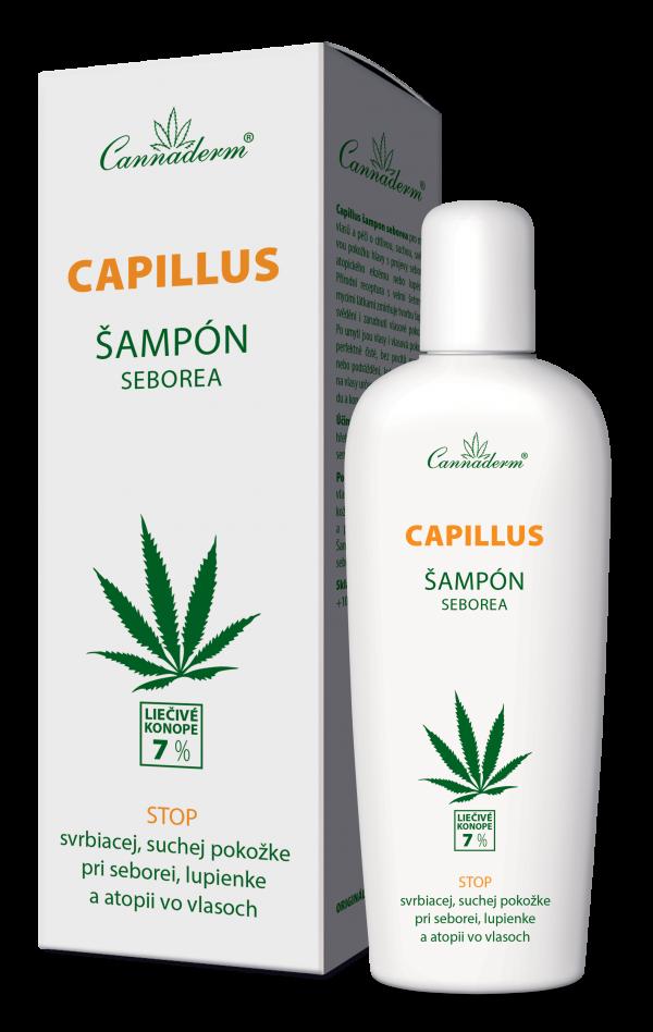 Cannaderm Capillus – šampón na seboreu 150